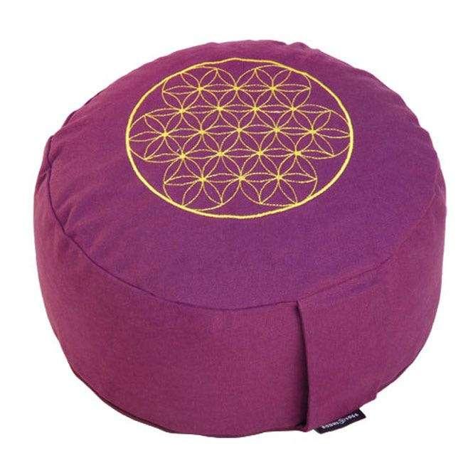 Coussin de méditation RONDO BASIC - Fleur de vie