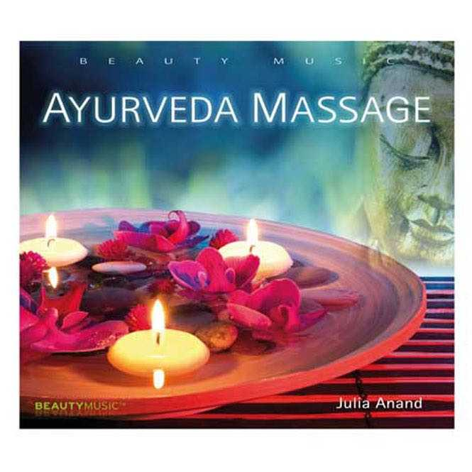CD Ayurveda Massage, Julia Anand, sans droits de Sacem