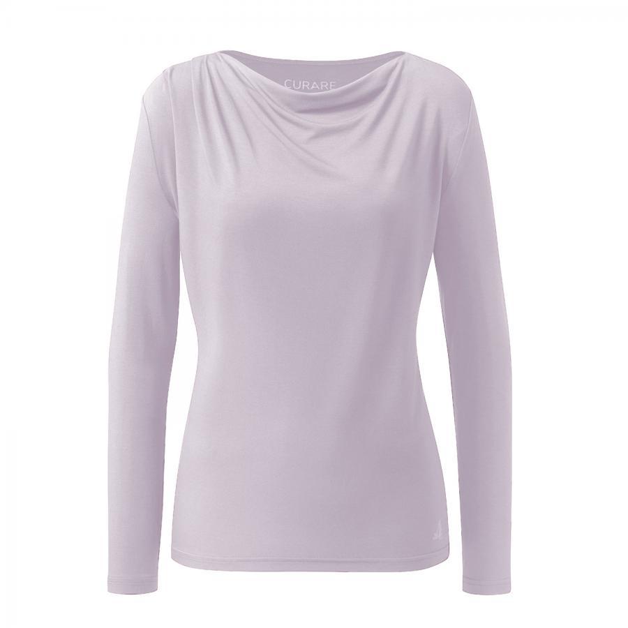 CURARE Flow Shirt Wasserfall 1/1 Sleeves, puder-rosa
