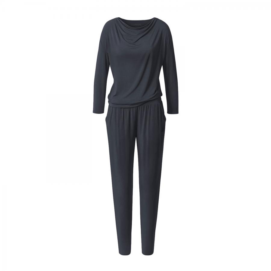 CURARE Flow Jumpsuit, midnight-blue