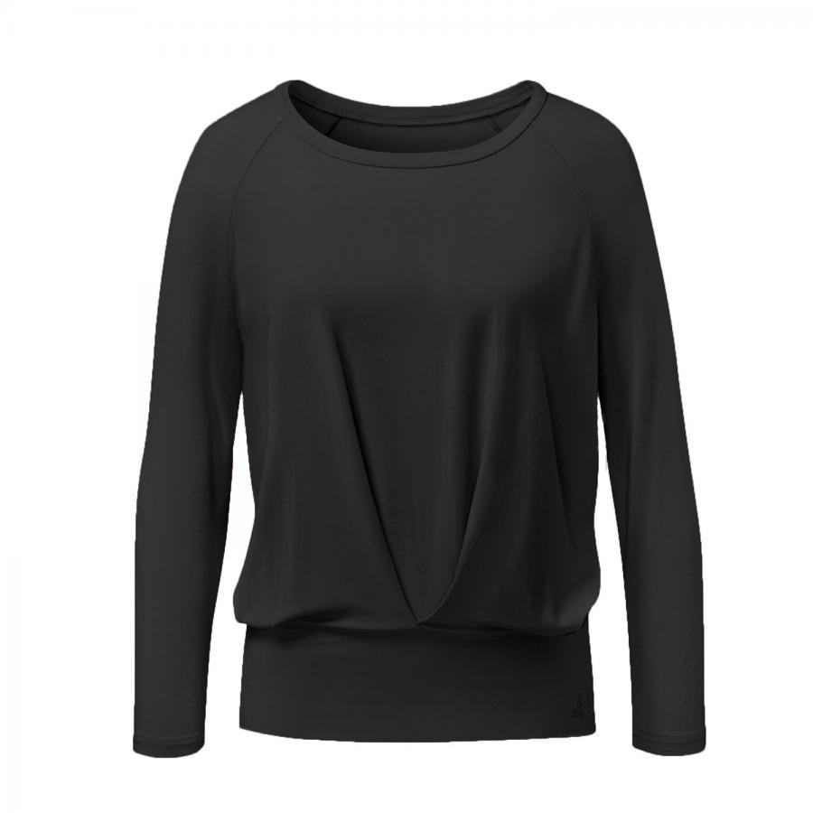 CURARE Shirt Box Pleat, schwarz