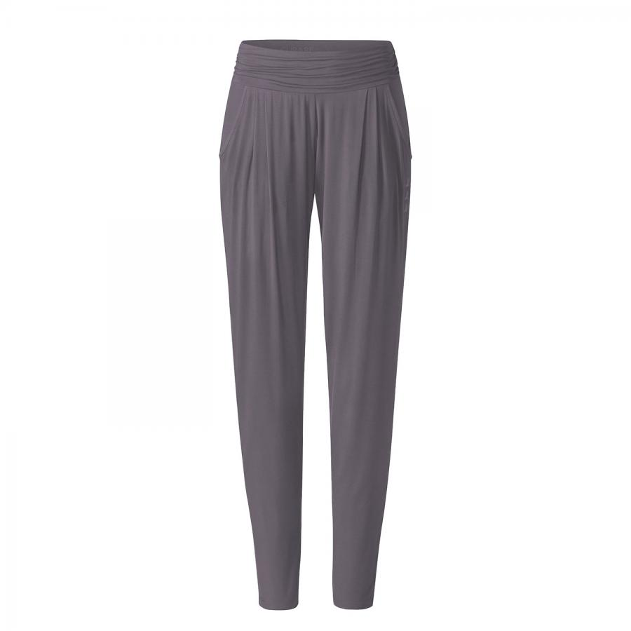 CURARE Yogahose Pants Long Loose, greyberry