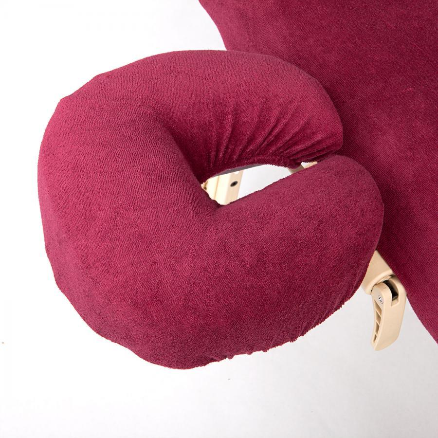 wuwei Kopfstützbezug aus Frottee burgund