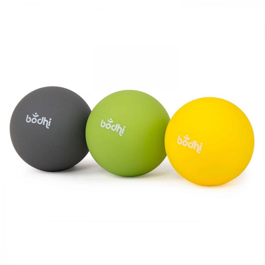 3 Massage balls for myofascial release, Ø approx. 6,5 cm