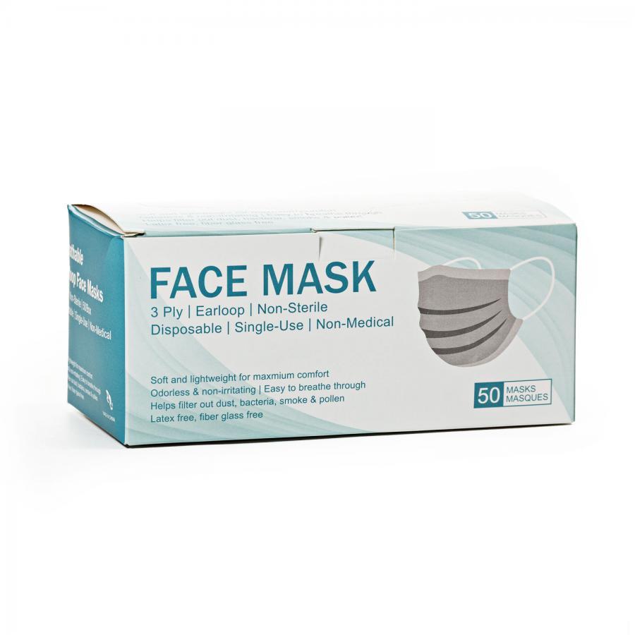 Einweg Mund/Nasenschutz, 50er Pack