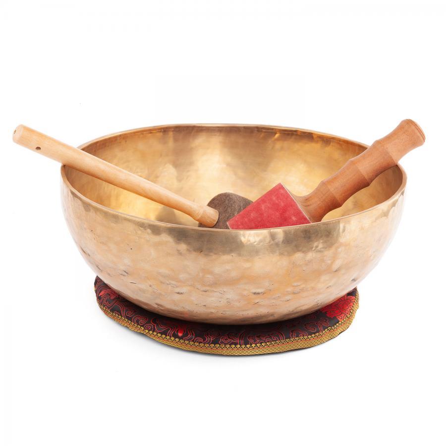 Bol chantant tibétain « Singing Bowl » de bodhi, env. 14,5 kg, Ø 60 cm