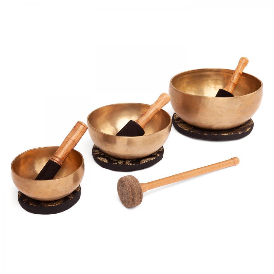 Kit de 3 bols chantants