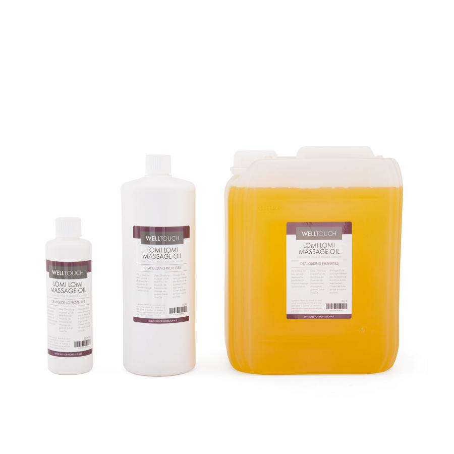Lomi-Lomi massage oil, WellTouch