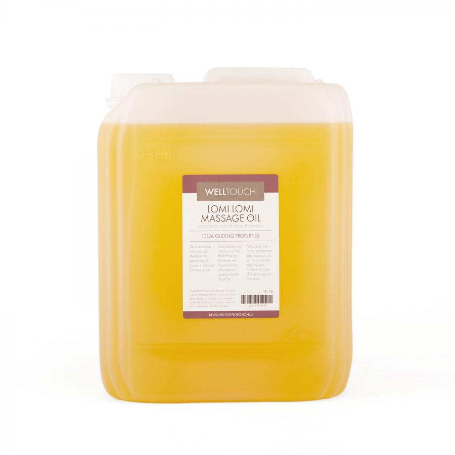 Huile de massage Lomi-Lomi, WellTouch 5 litres