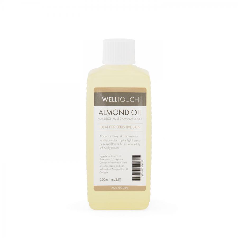 Mandelöl, WellTouch 0,25 Liter Flasche