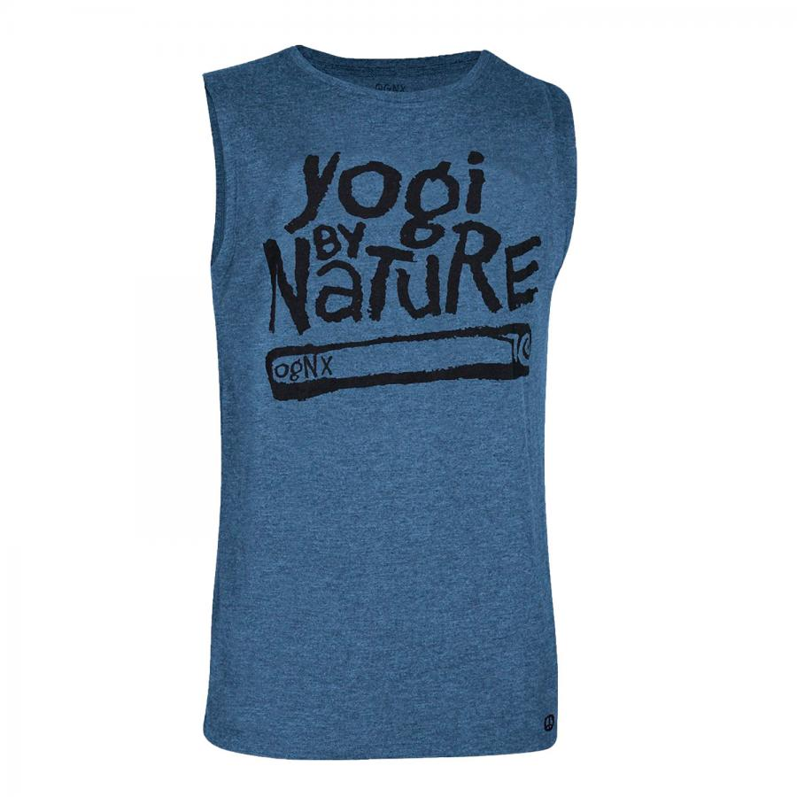 OGNX Tank Top, Yogi by Nature, navy melange