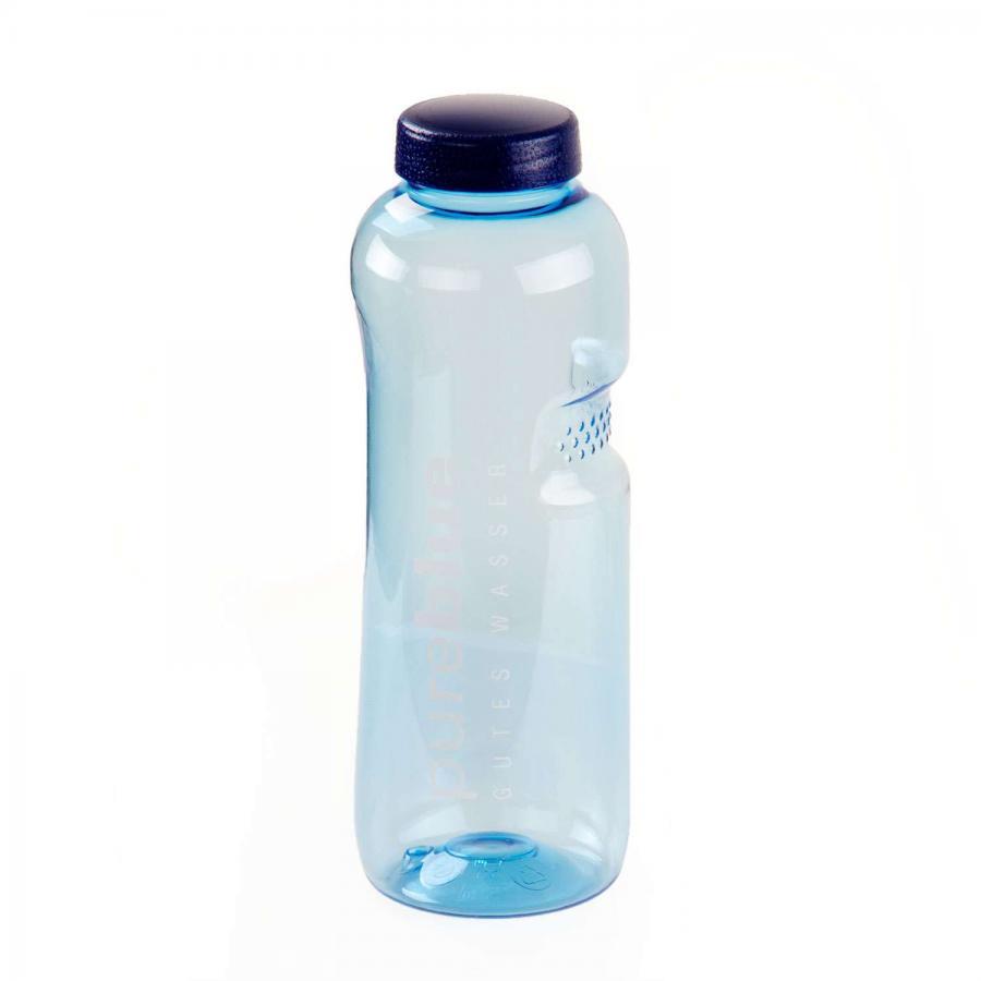 Wasserflasche pureblue GUTES WASSER, 750 ml