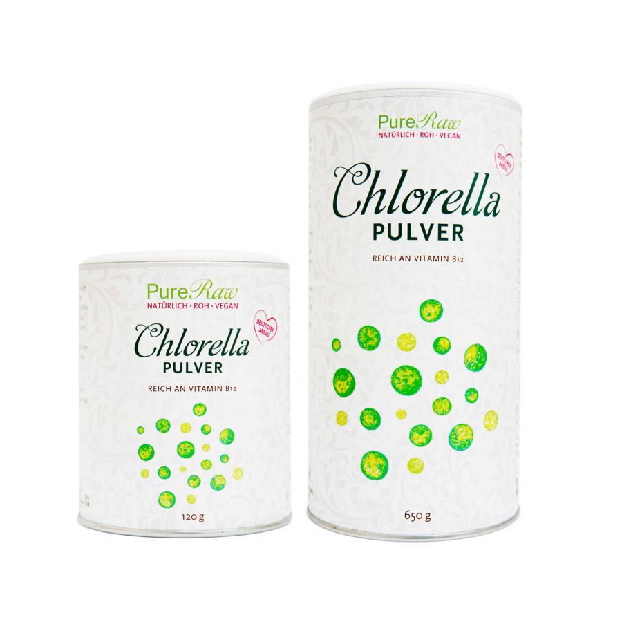 PureRaw Chlorella powder