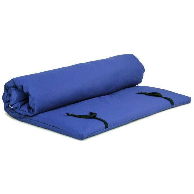 Housse pour futon de shiatsu 140x200 cm | bleu foncé