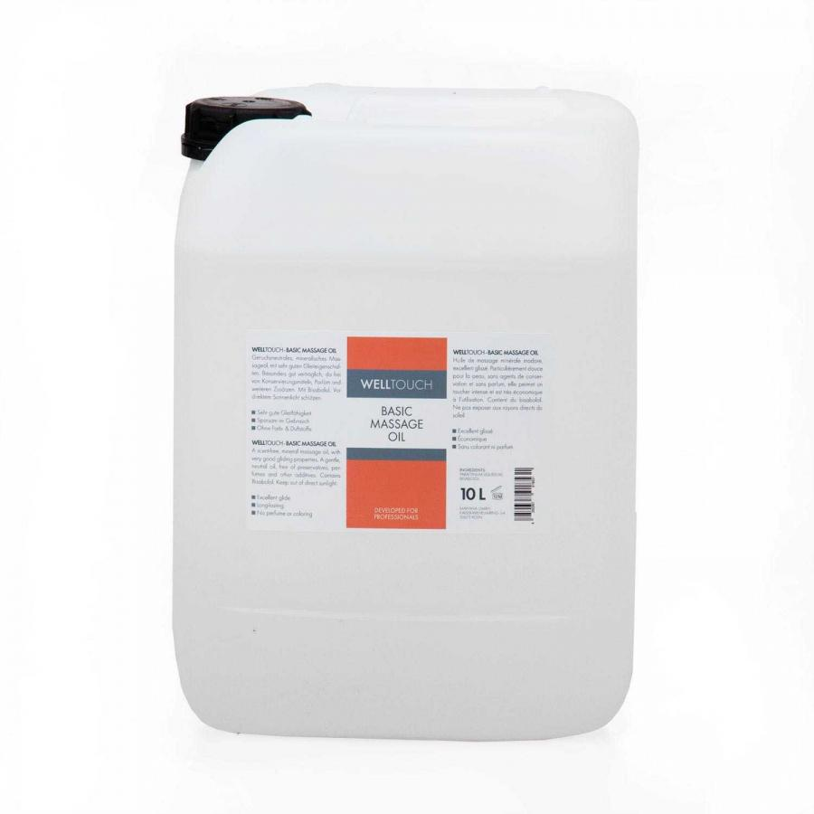 WellTouch Basic Massage Oil 10 litres container