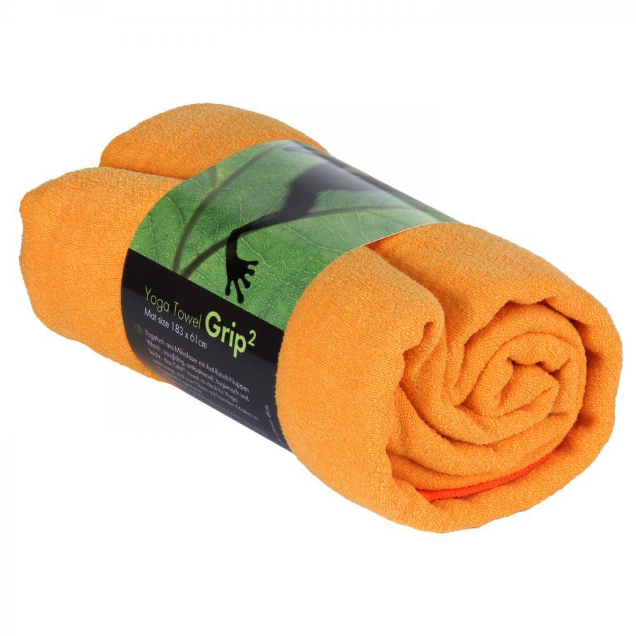 Yoga TOWEL GRIP² saffron orange