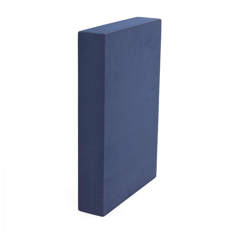 Yoga BLOCK für Schulterstand blau