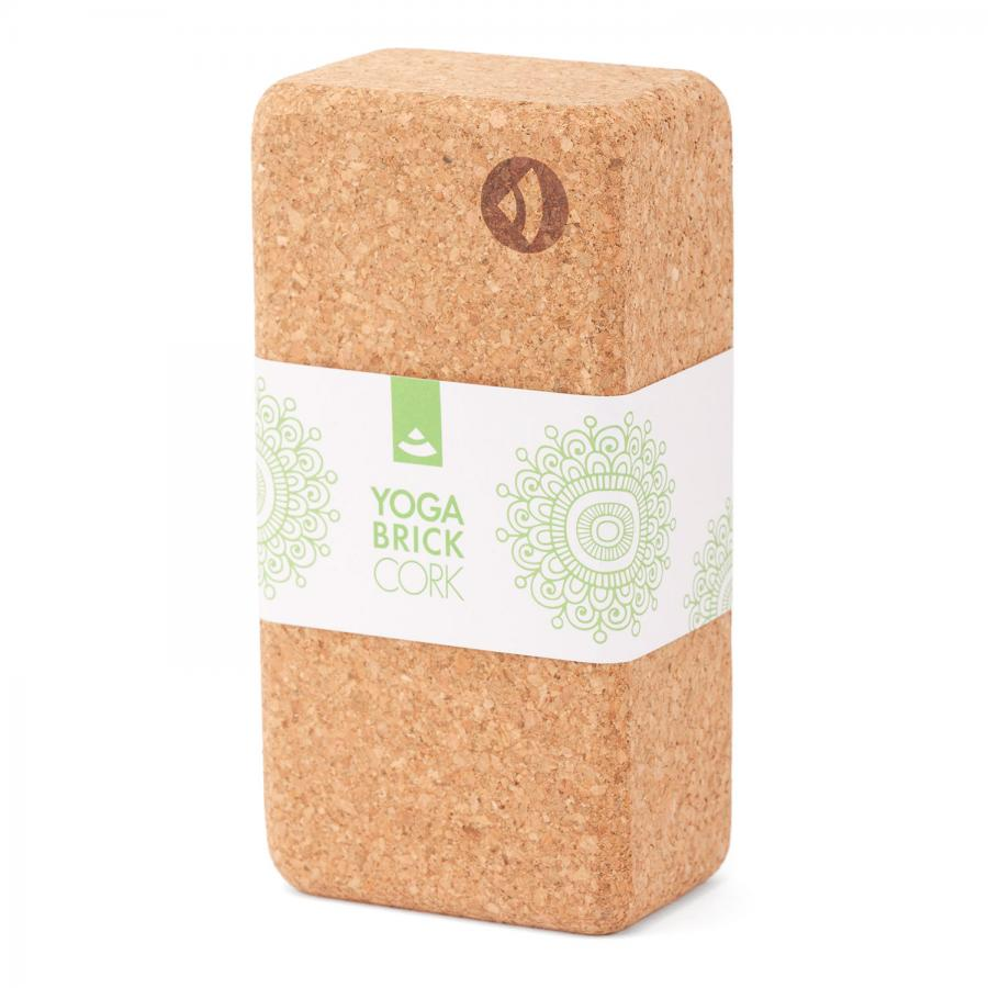 Yoga Block KORK BRICK, Standard 1 Stück
