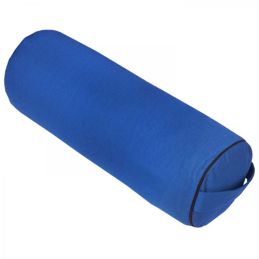 Yoga BOLSTER CLASSIC blau   Kapok